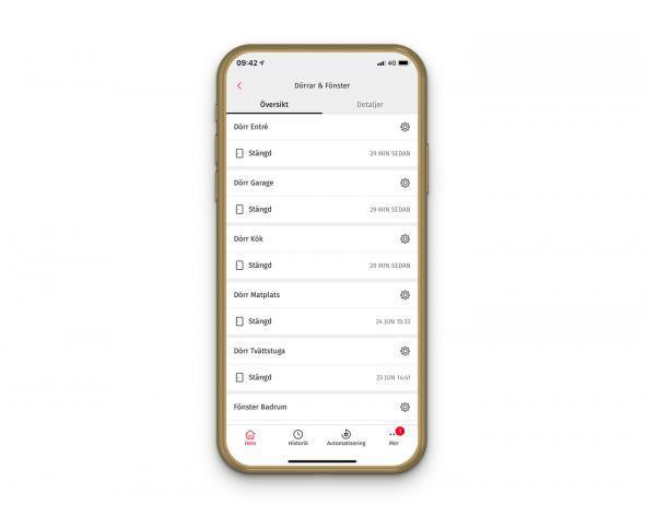 bästa app för hemlarm